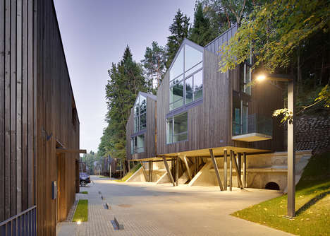 Vaulted Timber Homes