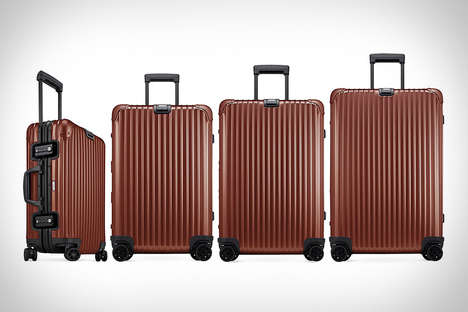 Hardwearing Copper Luggage