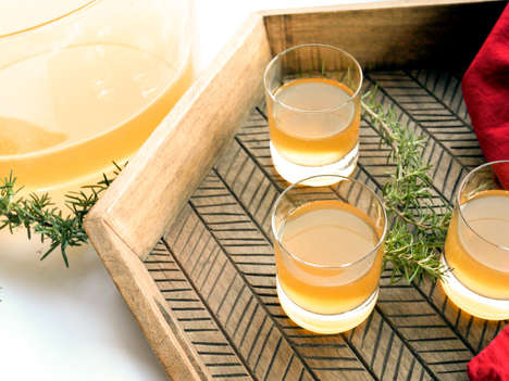 Smoked Rosemary Cocktails