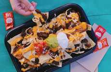 Steak-Topped Nacho Dishes