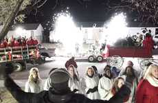 Caroling Pizza Delivery Ads - This Pizza Hut Holiday Ad Had Choirs Serenading Unsuspecting Families