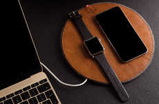 Leather Smartwatch Docks