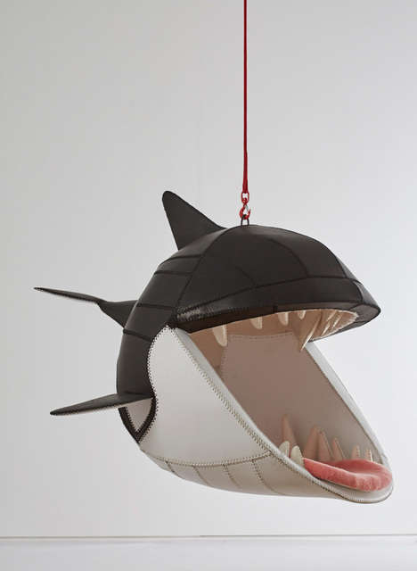 Suspended Orca Seats