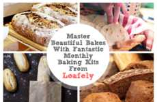 Subscription Bread Kits - 'Loafely' Delivers Monthly Ingredients & Recipes for Fresh Baked Bread