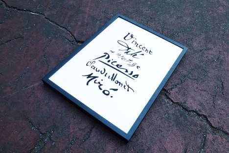 Artistic Autograph Illustrations