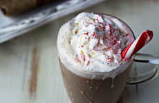 Crock Pot Peppermint Lattes