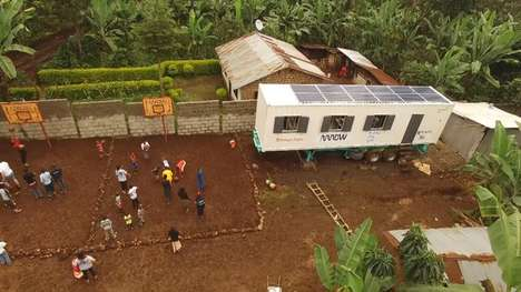 Solar-Powered Mobile Classrooms