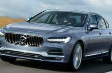 Animal-Avoiding Automobiles - The Volvo S90 Warns You If You're At Risk of Hitting An Animal