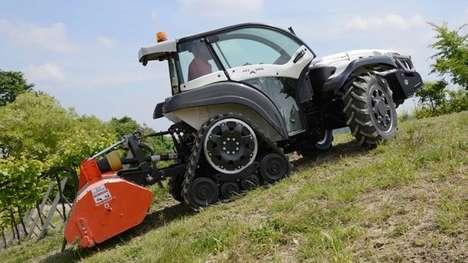 Ultra-Steep Tractors