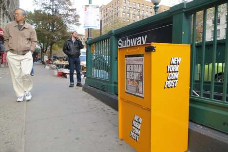 Newsworthy Compost Bins - This Campaign Aims to Turn Old Newspaper Boxes in Compost Collection Sites