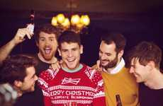 Festive Beer Sweaters - This Budweiser Christmas Jumper Combines Brews and Holiday Themes