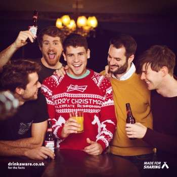 This Budweiser Christmas Jumper Combines Brews and Holiday Themes