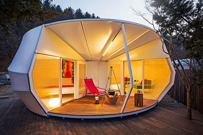 Luxurious Tent Pods