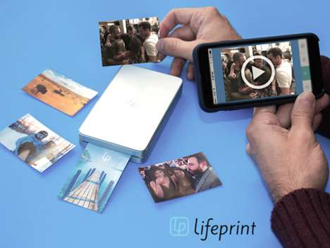 Video-Embedding Photo Printers