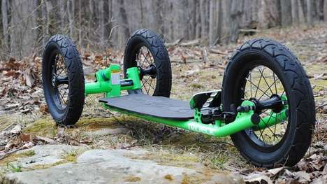 Tri-Wheeled Skateboards
