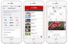 Livestreaming Sports Apps - The New ESPN App Features Self-Contained Streaming Functionality