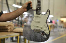 Recyclable Cardboard Guitars - This Cardboard Guitar is An Eco-Friendly Fender Stratocaster