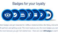 Badge-Earning Travel Programs - The 'TrueBlue Badges' Programs Rewards Members for Air Travel