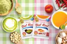 Instant Diet Meals - Kinohimitsu's Powdered Packs Take the Form of Instant Soup and Green Tea