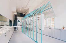 Perception-Bending Eyewear Shops - The Eye Eye Boutique Features a Variety of Spaces