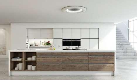 Air-Filtering Light Fixtures