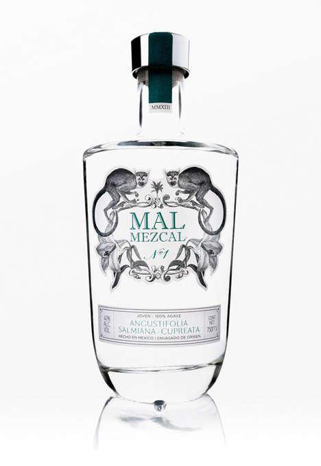Tropical Mezcal Branding