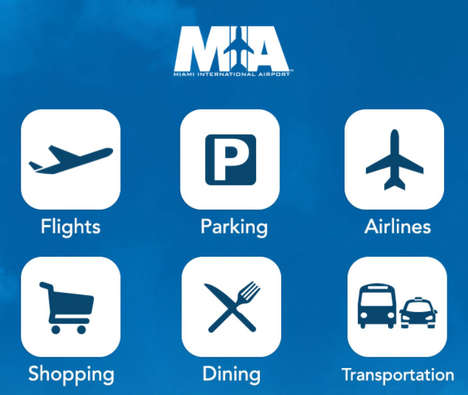 Retail-Based Airport Beacons - This Upgraded App Features a Dining and Shopping Directory