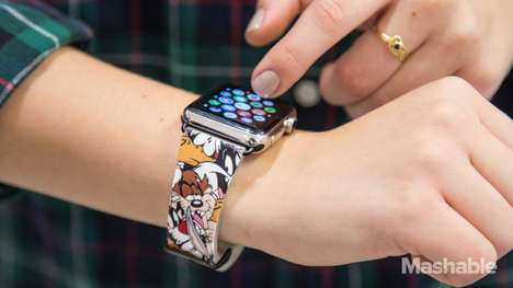 Retro Cartoon Smartwatches - These Apple Watch Bands Feature Quirky Vintage Looney Tunes Characters