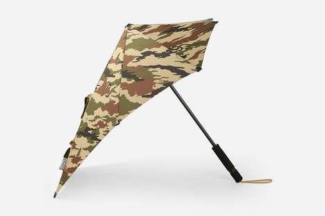 Asymmetrical Weather-Proof Umbrellas