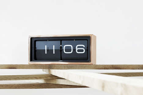 Retro Stainless Steel Clocks