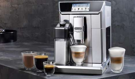 App-Enabled Coffee Makers - The De'Longhi PrimaDonna Elite Professional Coffee Machine is Modern