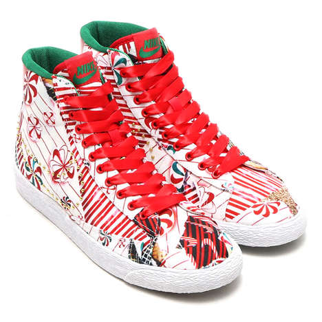 Festive Holiday Sneakers