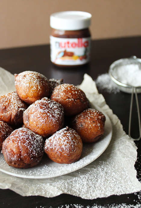 Cheesy Chocolate-Filled Donuts