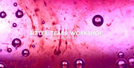 Human Tear Cocktails - The 'Bitter Tears' Workshop Teaches People to Make Drinks Out of Their Tears