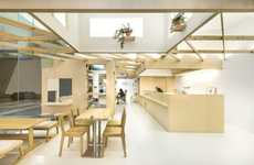 Minimalist Shared Retail Spaces