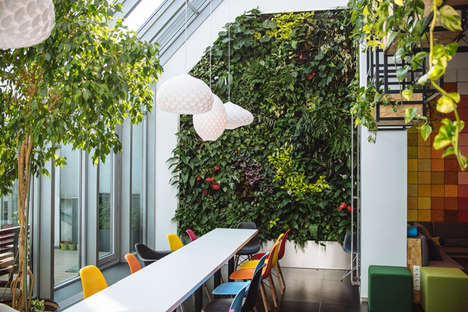 Playground-Inspired Green Offices - Skyscanner's Budapest Offices Boasts Grassy Areas and Swings