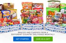 International Snack Food Subscriptions - This Service Delivers International Treats to Foodies