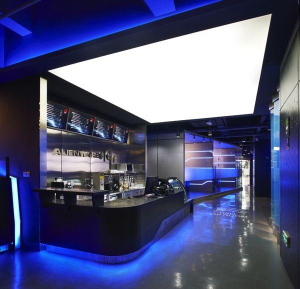 Professional Gamer Cafes Alienware Internet Cafe