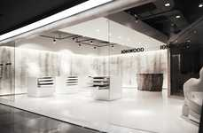 Air-Purifying Flooring Shops - This Understated SUGAWA IONWOOD Store Showcases the Product