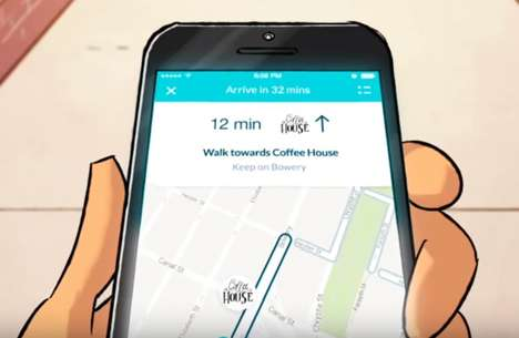 Landmark-Identifying GPS Apps - The 'Walc' App Helps You Navigate by Pointing Out Nearby Landmarks
