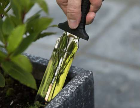 Knife-Inspired Gardening Tools
