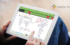 Mathematics Tablet Tutors - The Tabtor Math App Offers Math Homework Help with a Real Human Tutor