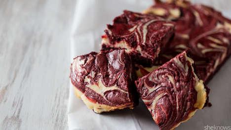 Hybrid Red Velvet Brownies