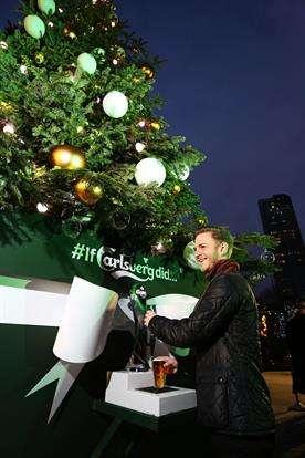 Beer-Dispensing Christmas Trees