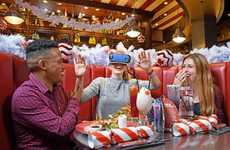 Festive VR Dining Experiences - TGI Fridays' Holiday Experience Transports Diners to the Arctic