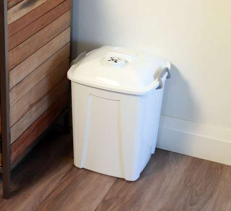 Filtering Diaper Bins