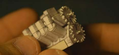 Paper-Made Engines