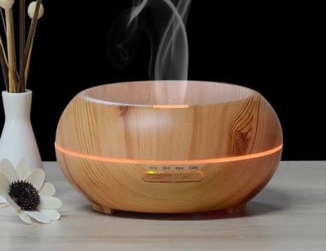 Wooden Oil Diffusers