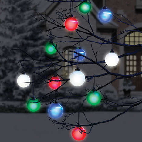 Wireless Outdoor Decorations - These Cordless Ornament Decorative Lights are Eco-Friendly to Boot