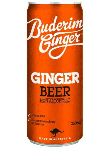 Non-Alcoholic Ginger Beers - Buderim's Non-Alcoholic Beer is Powered by Carbonated Water and Ginger